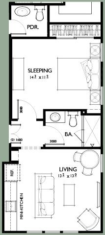 Mother in law house plans in law additions gerber for In law apartment plans