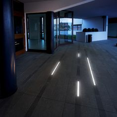 DAVIS - Recessed walk-over modular profile, ideal for the lighting of corridors, pathways, sidewalks and pedestrian ways. #LED #light_e_design #design #illumination #lamp #lightdesign #lighting #lamp #pendant #iluminacion #decor #public_spaces #decoracion #lampara