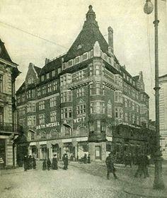 Gustav Adolfs torg,  Malmö about 1914