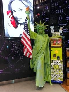 Statue of Liberty Loreal Loreal, Statue Of Liberty, Body Art, Fictional Characters, Statue Of Liberty Facts, Statue Of Libery, Body Mods, Fantasy Characters