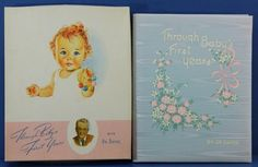 Vintage Blue Boy Baby Book Dr Dafoe New by QueeniesCollectibles, $16.99