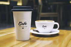 Design a clean/crisp/modern logo for coffee shop/restaurant Logo design contest Branding And Packaging, Coffee Packaging, Coffee Branding, Product Packaging, Web Design, Logo Design, Cafe Logos, Free Logo Psd, Cappuccino Coffee