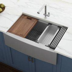 9 Kitchen Room Ideas In 2021 Farmhouse Sink Kitchen Apron Sink Kitchen Farmhouse Apron Kitchen Sinks