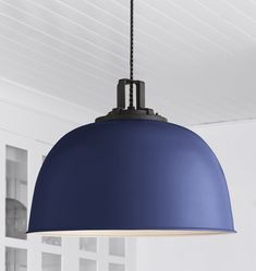 Butte Dome Pendant - 22in Oil-Rubbed Bronze with 7 Shade Colors A0146