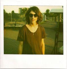 he looks like a girl, but i love him - Alex Turner