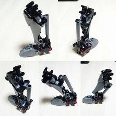 lower leg section