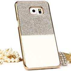 Samsung Galaxy S7 Edge Handyhülle von original Urcover® in der Elegant Diamond Edition Galaxy S7 Edge Schutzhülle Case Cover Etui Weiß 16,90€