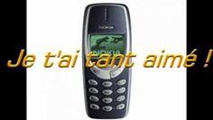 Vintage -Mon Nokia 3310 !!!!! (SNIF!) -  NOKIA remet sur le marché son 3310 pour les nostalgique (source presse du moment mars 2014)
