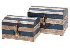 Blue Striped Trunks, Asst. of 2 on OneKingsLane.com159
