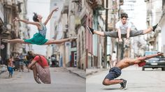 Photographer captures stunning photos of dancer in Cuba!