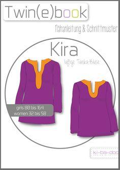 Ina flohr inaflohr on pinterest twinebook luftige tunika bluse schnittmuster und anleitung als pdf fandeluxe Gallery