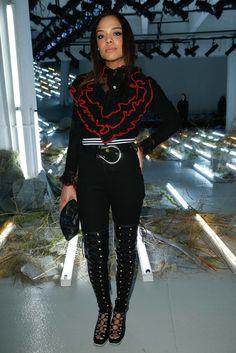 Tessa Tompson Front Row Rodarte Fall 2015