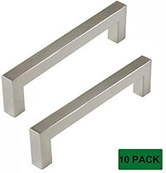 Ad Homidy Kitchen Cabinet Pulls And Knobs Brushed Nickel 96mm3 34