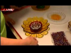 Glass Dishes Garden Flowers, Video