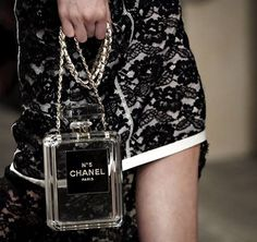 Chanel 2014 Perfume Bottle Lucite Purse-WANT X 250,000!