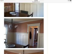 59.5 inch wainscoting on 8 ft ceiling