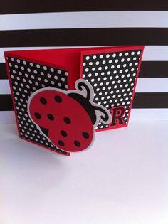 Ladybug Invitation by CraftyHijabi on Etsy