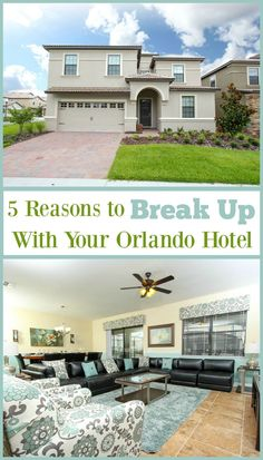 The grass really is greener on the other side. Find out why staying in an Orlando Vacation home trumps a hotel for your family vacation!
