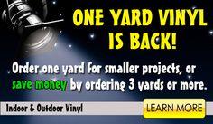 Good price on vinyl by the yard