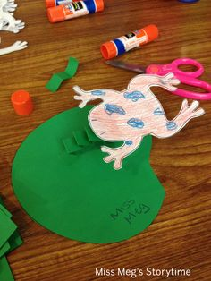 frog storytime ideas for toddlers