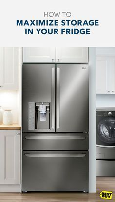 A fridge can fill up quickly when you have a whole family to feed. That's where LG's CustomChill drawer can help. With its four pre-set temps, you'll be able to free up some space in the main refrigerator area by moving your meats, cheeses, wines, or other beverage down to the drawer.