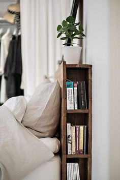 bookcase bedhead.