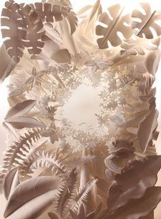 Paper + Book + Art | 紙 + 著作 + アート | книга + бумага + статья | Papier + Livre + Créations Artistiques | Carta + Libro + Arte |  paper sculpture by hazel buchan, via Behance