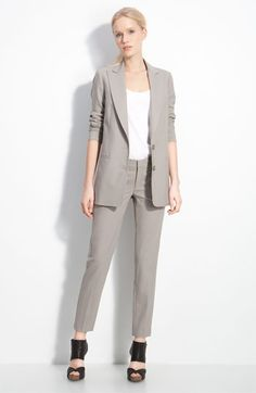 Vince Stretch Wool Blazer #nordstrom