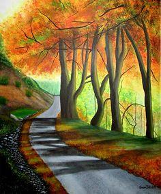 Sunny Forest - Acrylic