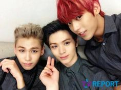 ilhoon, sungjae, and minhyuk♥