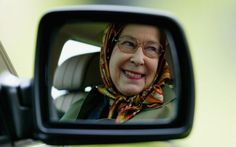 The Queen doesn't have a driving licence and is not obliged to have registration plates on her vehicles