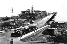 Santa Monica Pier, Santa Monica, California, 1920's, where Billy Duquesne and his partner Turk, find themselves after an altercation that goes all wrong in the novel INDIFFERENT CITY