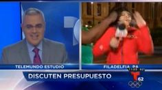 Video: Shocking moment news reporter punched in face by woman on live TV