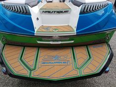 Any SeaDek color combinations is available. We have many templates on file. Wakeboard Boats, Boat Kits, Wakeboarding, Water Crafts, Paddle Boarding, Color Combinations, Kayaking, Templates, Projects