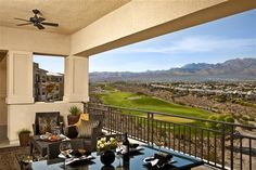Another shot of the Mira Villa Condos in Summerlin.  Man, I love those mountain views!