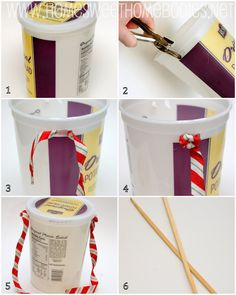 """Here is a fun project to do with kids- it is almost guaranteed to be a success with toddlers and preschoolers because 1. They love music and making noise, 2. They will be fascinated by watching normal household items transform into """"musical instruments"""", and 3. These kinds of toys require them to use their imagination, …"""