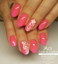 Opi Gel Nails, Shellac Nail Designs, Fall Nail Art Designs, Nail Manicure, Pink Nails, Long Nail Art, Trendy Nail Art, Elegant Nails, Stylish Nails