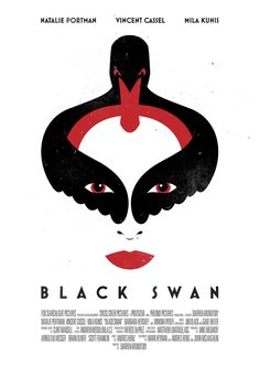 Black Swan - Movie Poster by Tom Miatke
