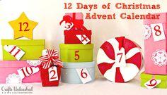 christmas advent idea, crafts, seasonal holiday d cor, Christmas Advent