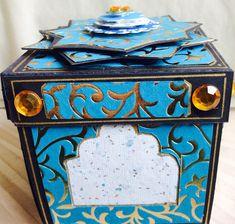 """Kerala"" box, closed, side view"