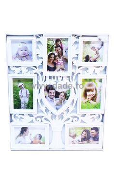 Rama foto colaj cu  copac  alb-big Home Deco, Frame, Decor, Sheet Music, Decoration Home, Decoration, Decorating, A Frame, Dekorasyon