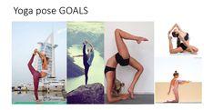 My yoga pose goals!