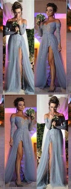 Prom Dresses Long #PromDressesLong, Prom Dresses 2019 #PromDresses2019, A-Line Prom Dresses #ALinePromDresses