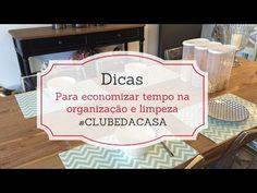 Economizar tempo na limpeza e organização - Dicas comprovadas | Limpeza, Organização - Donas de casa anônimas