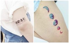 Tatuaggi+con+la+luna+e+le+fasi+lunari:+foto+e+significato