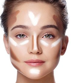 how to contour face with make up Easy Contouring, Contouring And Highlighting, Contouring Products, Contour Face, Contouring Round Face, Face Contouring Makeup, Best Contour Makeup, Flawless Makeup, Strobing
