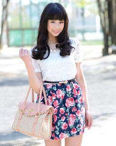 写真:加賀詩織さん 美人スナップ
