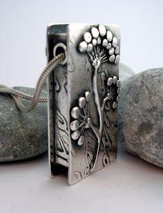 Art Nouveau flower pendant | Flickr - Photo Sharing!