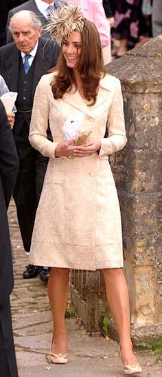 5/6/06 - By Kate attending such a high profile wedding, it again throws the signal that she is being taken serious as a member of the royal family.