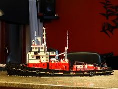 tugboat Tusker: A LEGO® creation by jim mcdonough : MOCpages.com
